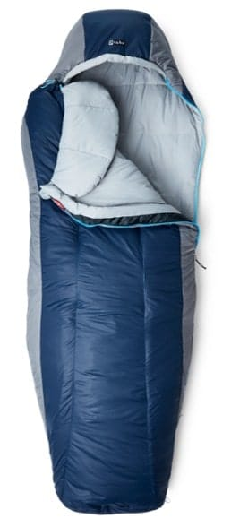 Nemo Forte 20 Best Semi Rectangular Sleeping bag for Cold Weather Camping