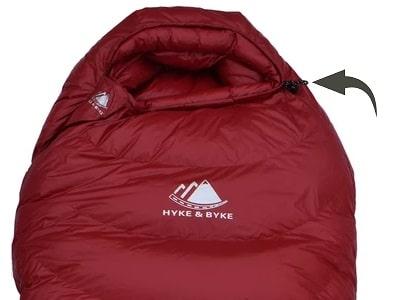 Cinchable Sleeping Bag Hood