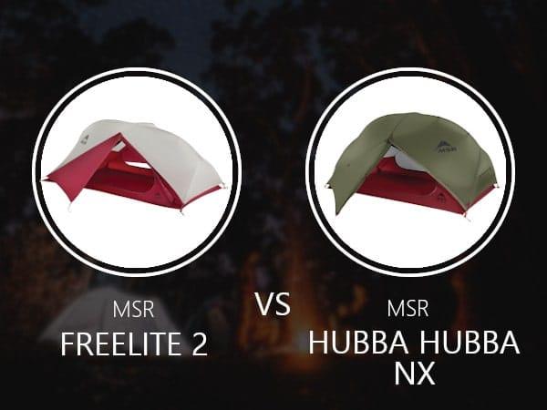 MSR Freelite 2 vs Hubba Hubba Nx