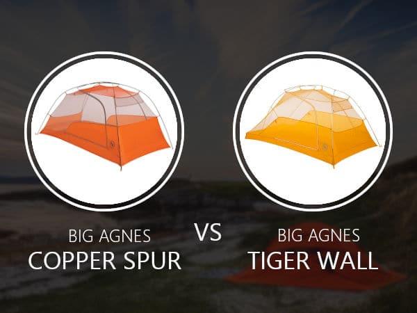 Big Agnes Copper Spur vs Tiger Wall