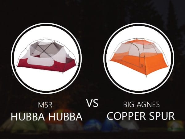 MSR Hubba Hubba vs Big Agnes Copper Spur