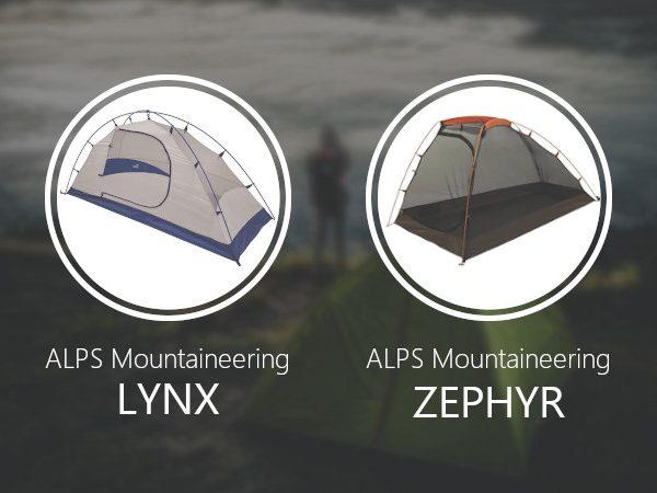 ALPS Mountaineering Lynx vs Zephyr