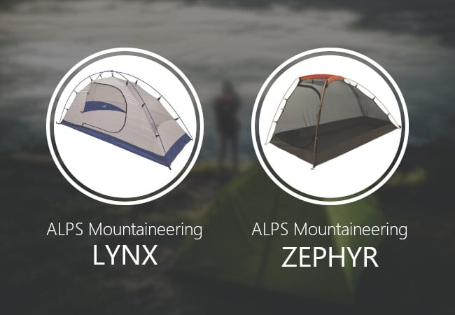 ALPS Mountaineering Lynx vs Zephyr