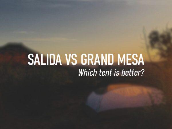 Kelty Salida vs Grand Mesa