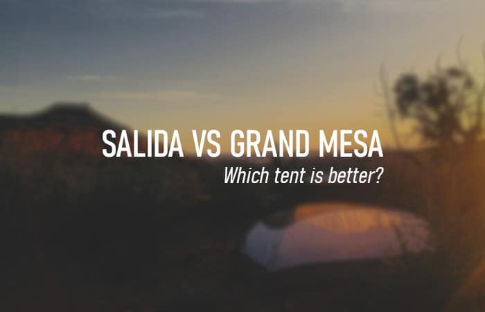 Kelty Salida vs Grand Mesa