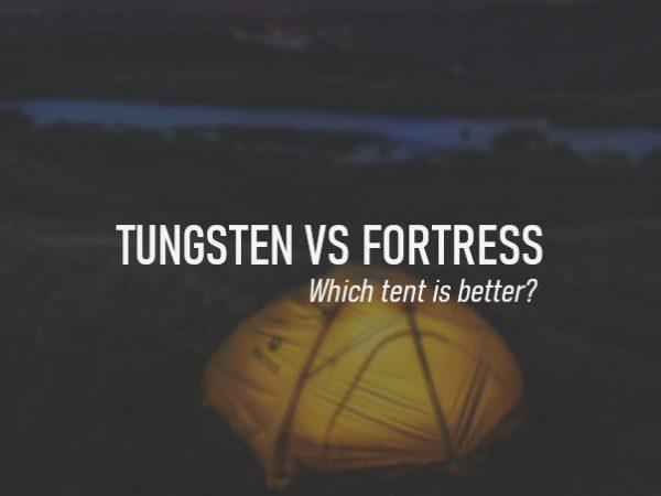 Marmot Tungsten vs Fortress