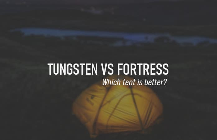 Marmot tungsten vs fortress: which tent is better