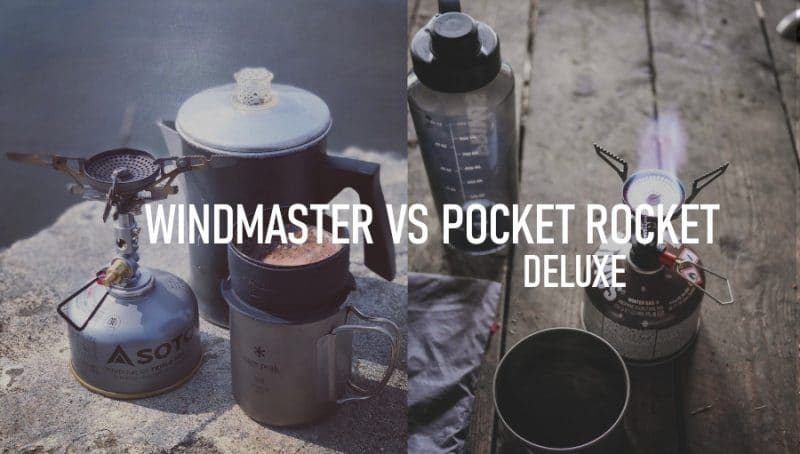 Soto Windmaster vs Pocket Rocket Deluxe