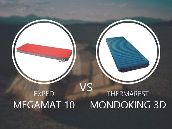 Exped Megamat 10 vs Thermarest Mondoking 3D