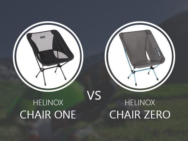 Helinox Chair One vs Zero