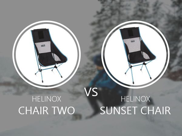 Helinox Chair Two vs Sunset Chair