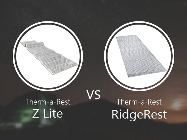Thermarest Z Lite vs RidgeRest