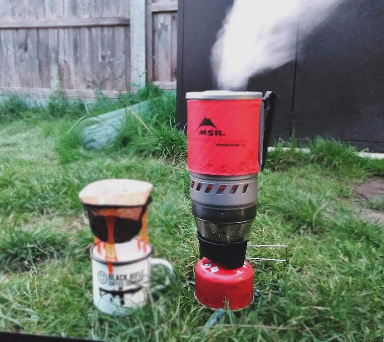 MSR Windburner Simmer Control