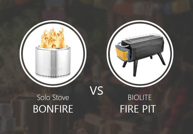 Solo Stove Bonfire vs Biolite Firepit