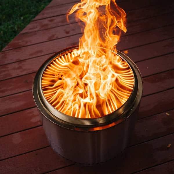 Solo Stove Bonfire vs Yukon Efficiency