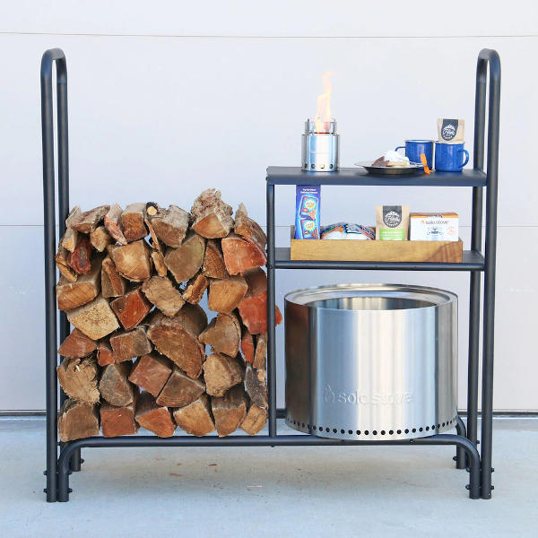 Solo Stove Fire Wood Rack for Bonfire and Ranger