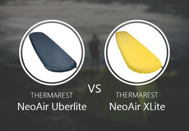 Thermarest NeoAir Uberlite vs XLite