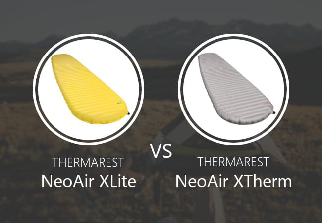 Thermarest NeoAir XLite vs XTherm