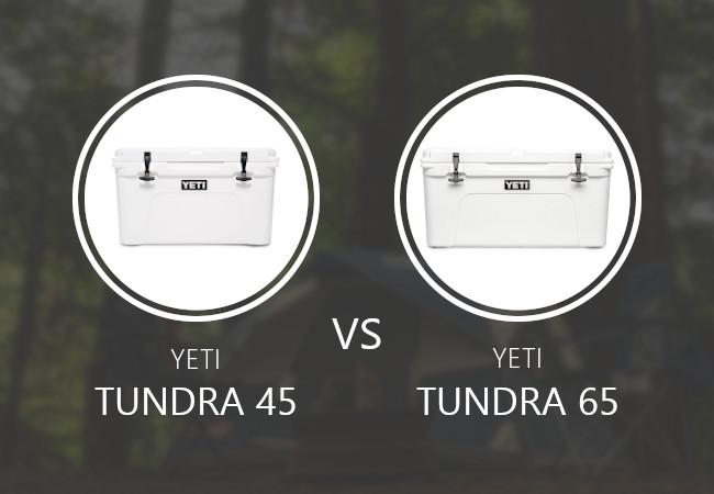YETI Tundra 45 vs 65
