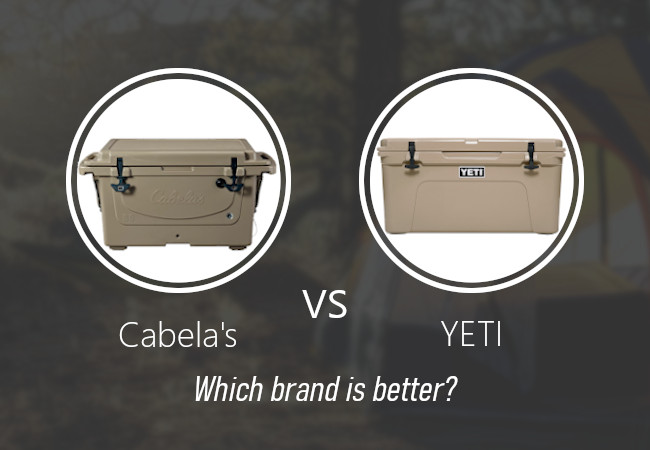Cabela's coolers vs YETI