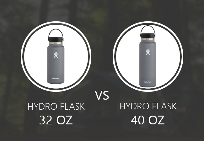 Hydro Flask 32 oz vs 40 oz